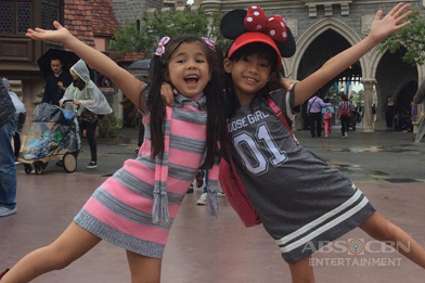 PHOTOS: Daytime Princesses Xia and Yesha's Hong Kong adventure