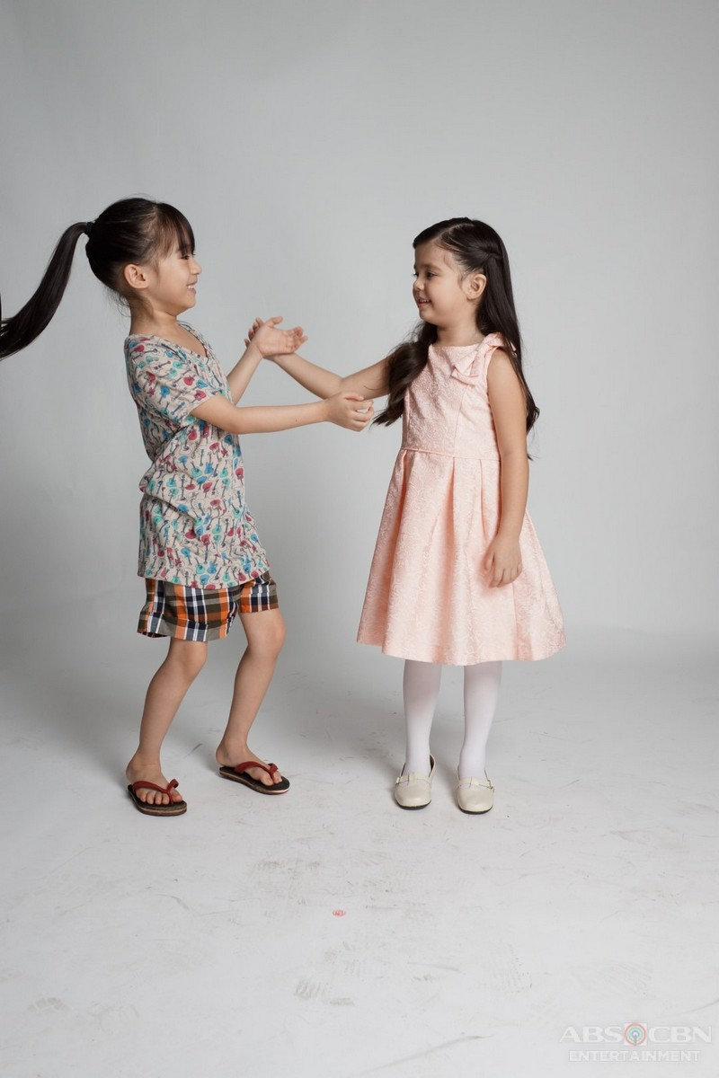 15 kulitan photos of little princesses Yesha and Xia