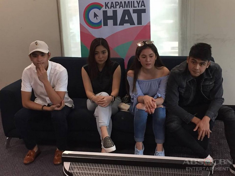 PHOTOS: Kapamilya chat with Langit Lupa teen stars Jairus, Sharlene, Barbie and Paulo