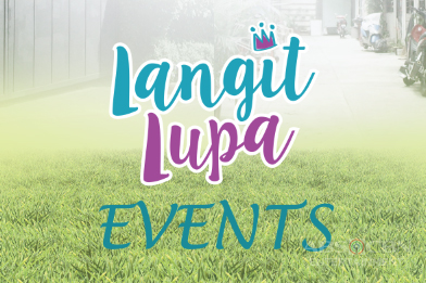 Langit Lupa Event Schedule